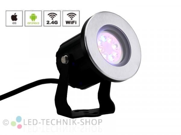 Premium LED Outdoor Strahler RGB+CCT Erweiterungs-Strahler