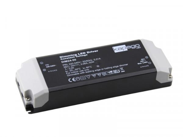Kapego LED Trafo dimmbar 24V 50W