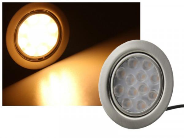LED Einbauleuchte 12V 3W 200 Lumen warmweiss
